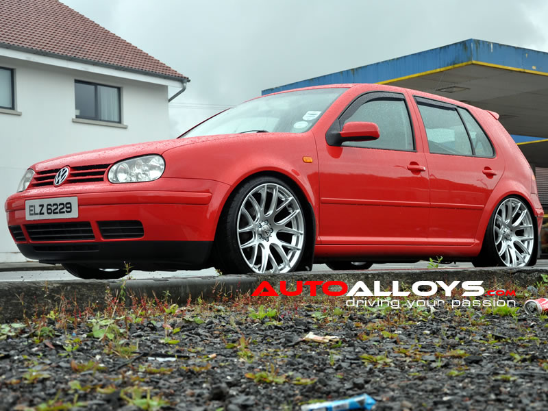 Volkswagen Golf 97 - 04 (MK4) 19 inch Zito 935 Silver Alloy Wheels