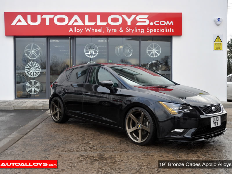Seat Leon 13 On (5F) 19 inch Cades Apollo Bronze Alloy Wheels
