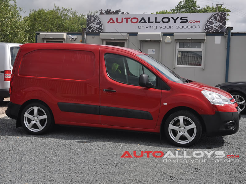 Citroen Berlingo 08 On 16 inch Dezent RE alloy wheels
