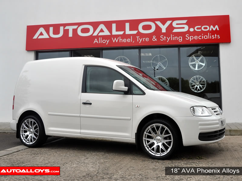 Volkswagen Caddy 04 On (MK3) 18 inch AVA Phoenix Alloy Wheels