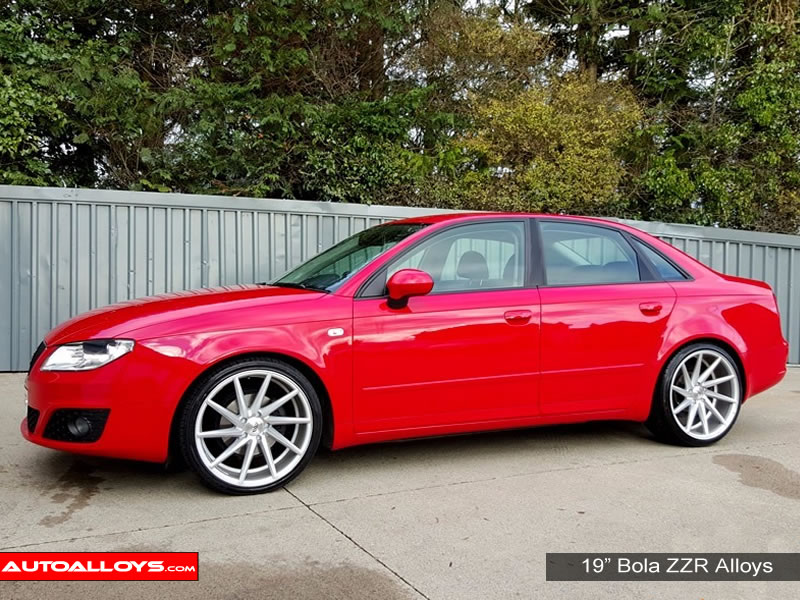 Seat Exeo 09 On (3R) 19 inch Bola ZZR SMF Alloy Wheels