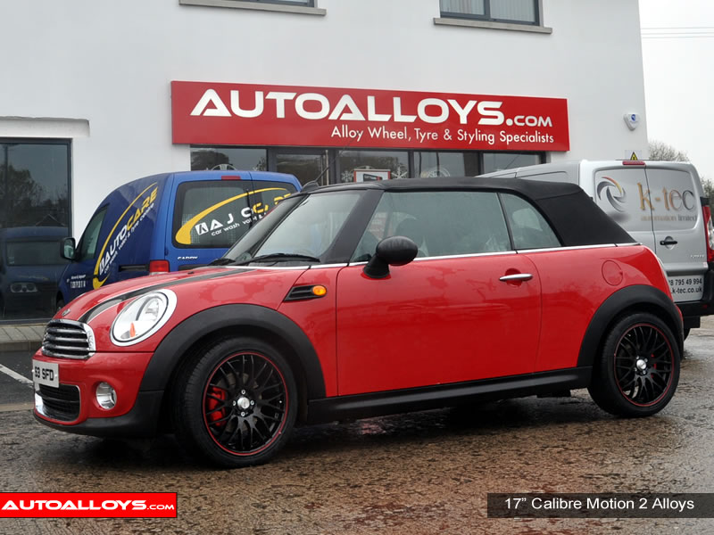 Mini (BMW) Cabriolet 09 On 17 inch Calibre Motion 2 BRL Alloy Wheels