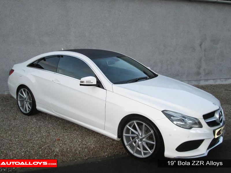 Mercedes E Class 02 - 08 (W211) 19 inch Bola ZZR SMF Alloy Wheels