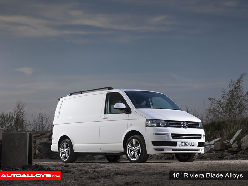 Volkswagen T5 10 On 18 inch Riviera Blade Alloy Wheels