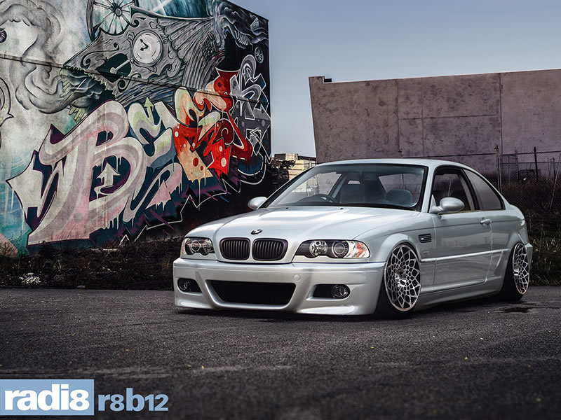 BMW M3 00 - 03 (E46)(Coupe) 19 inch Radi8 R8-B12 BPF Alloy Wheels