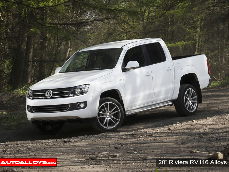 Volkswagen Amarok 10 On (2H) 20 inch Riviera RV116 Alloy Wheels
