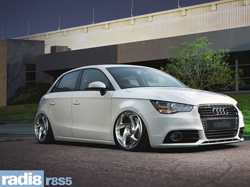 Audi A1 10 On (8X) 19 inch Radi8 R8-S5 SPF Alloy Wheels