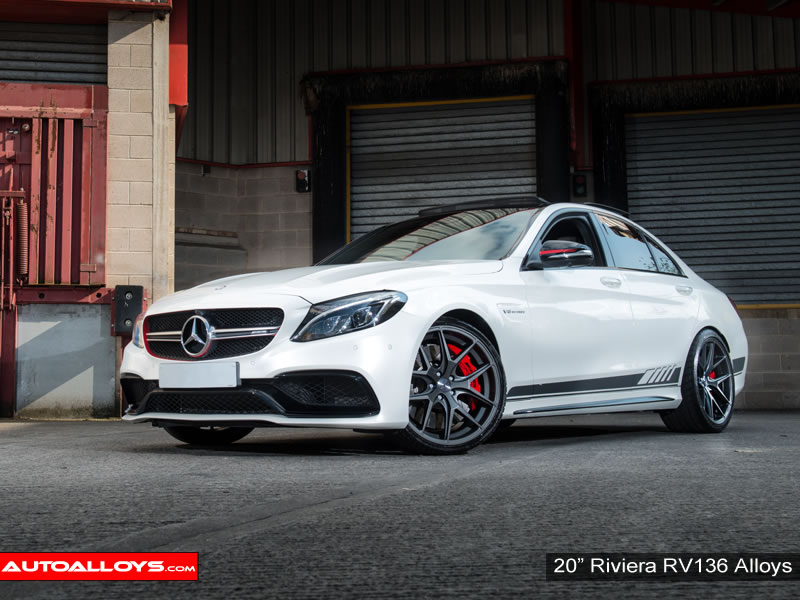 Mercedes C Class 07 On (W204) 20 inch Riviera RV136 MGM Alloy Wheels