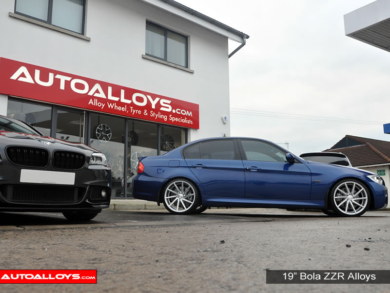 BMW 3 Series 05 - 12 (E90) 19 inch Bola ZZR SMF Alloy Wheels
