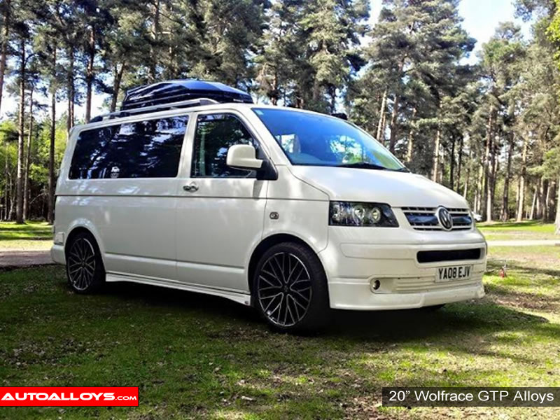 Volkswagen T5 10 On 20 inch Wolfrace GTP MBPF Alloy Wheels
