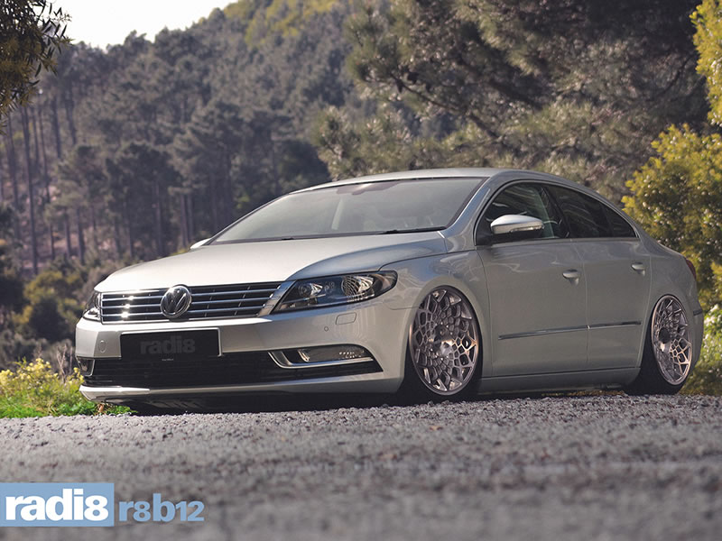 Volkswagen Passat CC 12 On (3CC) 19 inch Radi8 R8-B12 SPF Alloy Wheels