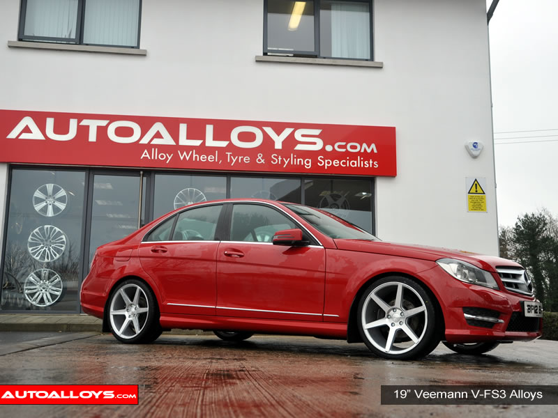 Mercedes C Class 07 On (W204) 19 inch Veemann V-FS3 SMF Alloy Wheels