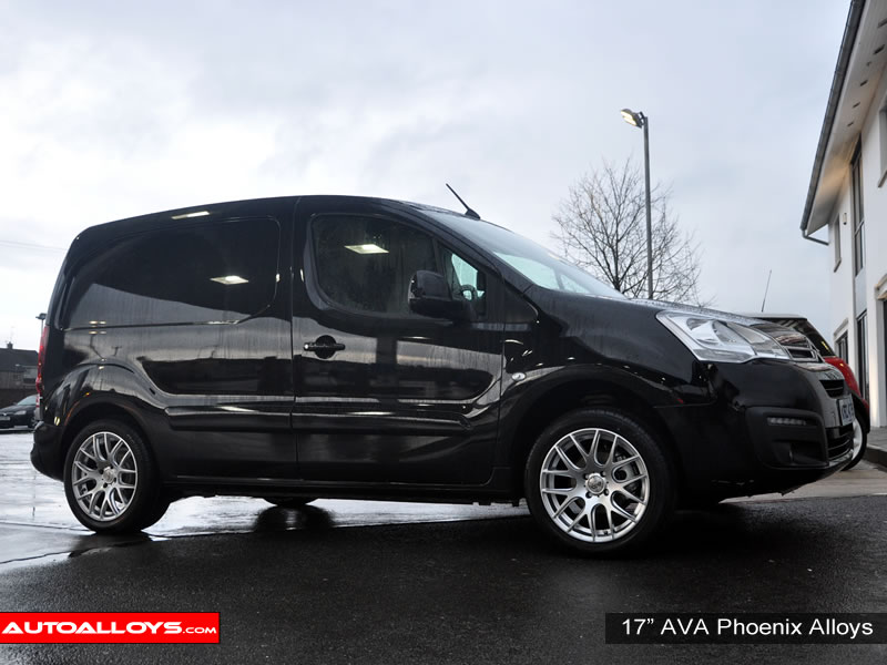 Citroen Berlingo 08 On 17 inch AVA Phoenix Alloy Wheels