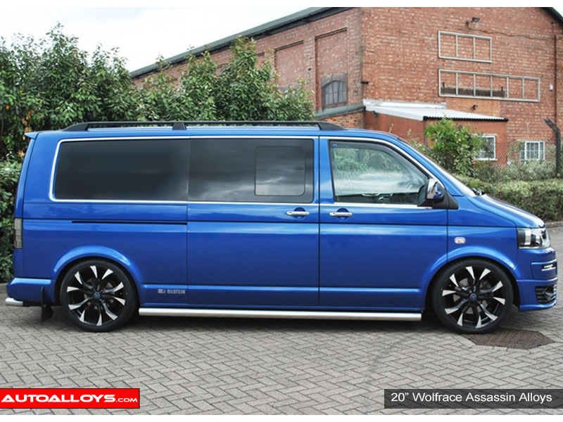 Volkswagen T5 10 - 15 20 inch Wolfrace Assassin BPF Alloy Wheels