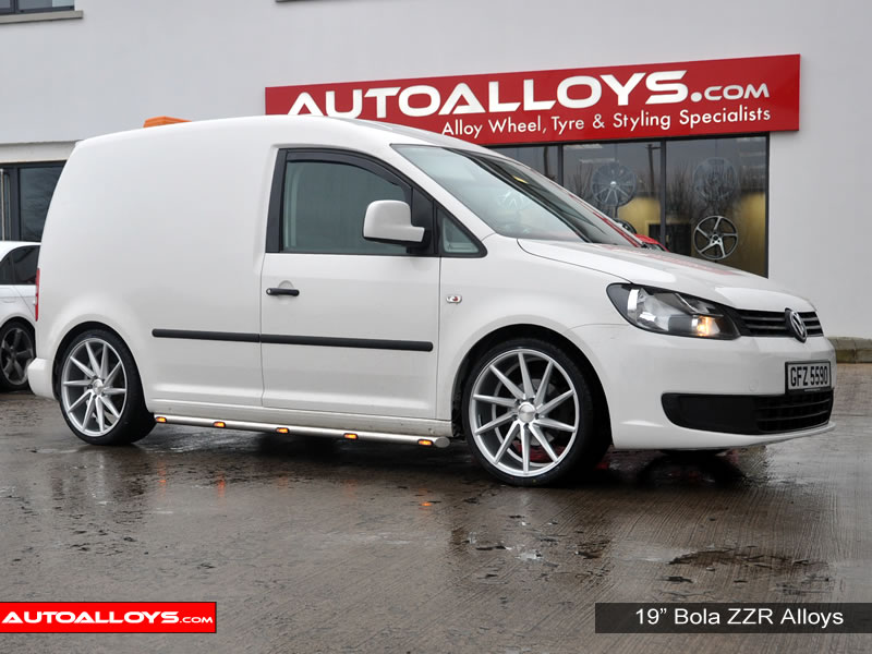Volkswagen Caddy 04 On (MK3) 19 inch Bola ZZR SMF Alloy Wheels