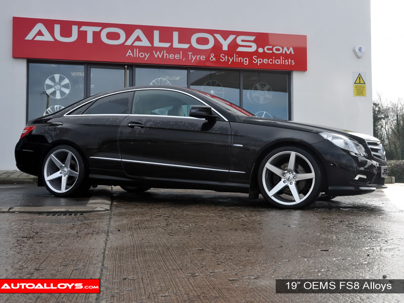 Mercedes E Class 09 On (Coupe) 19 inch OEMS FS8 SMF Alloy Wheels