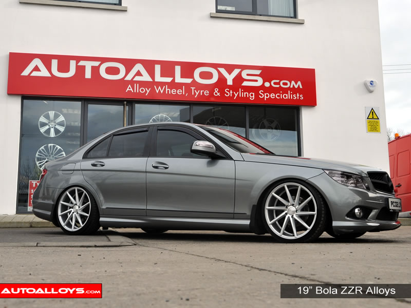 Mercedes C Class 07 - 14 (W204) 19 inch Bola ZZR SMF Alloy Wheels