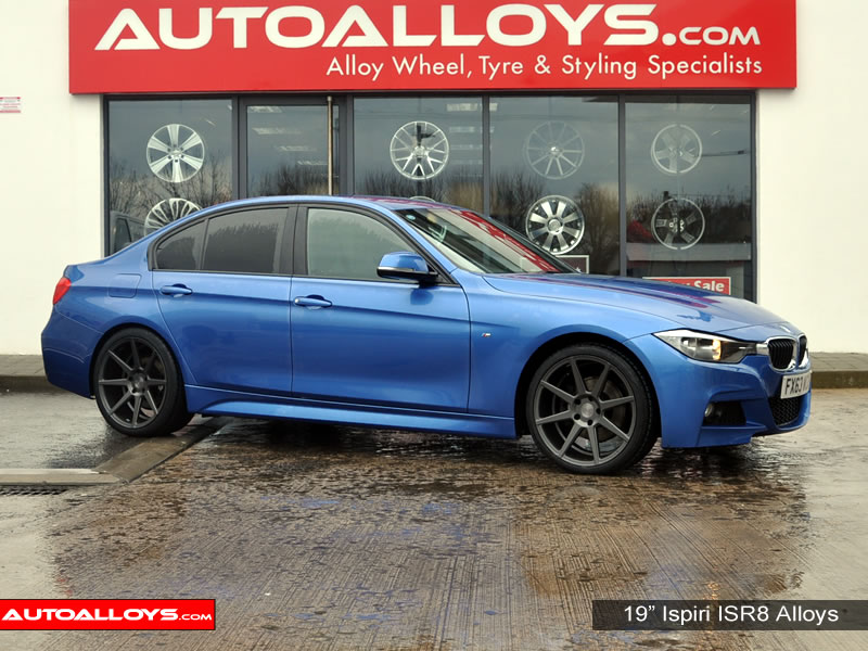 BMW 3 Series 12 On (F30) 19 inch Ispiri ISR8 Gunmetal Alloy Wheels