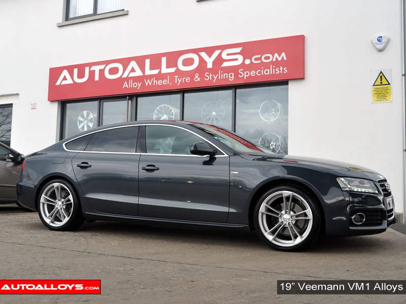 Audi A5 09 On 19 inch Veemann VM1 Alloy Wheels