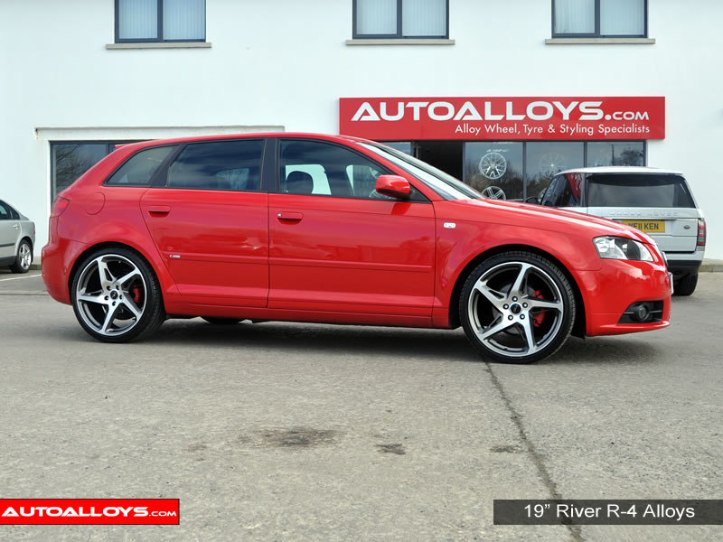Audi A3 04 - 12 (MK2) (8P) 19 inch River R-4 Alloy Wheels