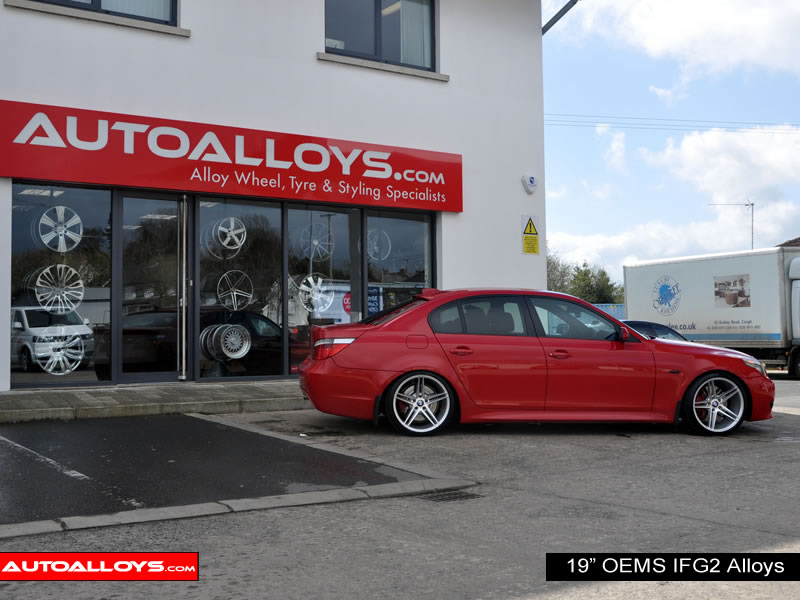 BMW 5 Series 03 - 10 (E60) 19 inch OEMS IFG2 SMF Alloy Wheels