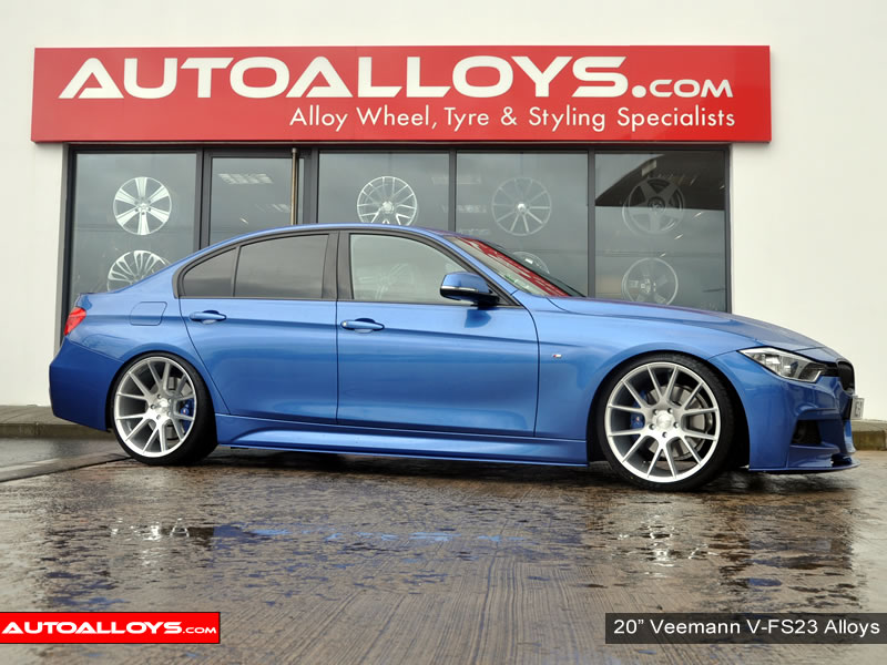 BMW 3 Series 12 On (F30) 20 inch Veemann V-FS23 SMF Alloy Wheels