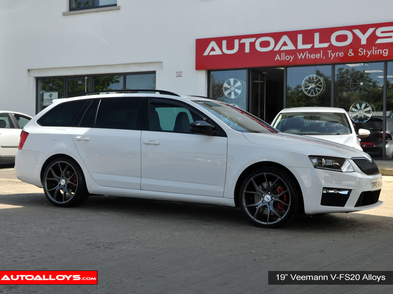 Skoda Octavia 13 On (MK3)(5E) 19 inch Veemann V-FS20 GM Alloy Wheels
