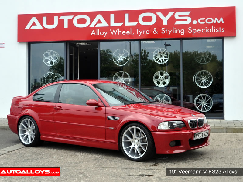 BMW M3 00 - 03 (E46)(Coupe) 19 inch Veemann V-FS23 SMF Alloy Wheels