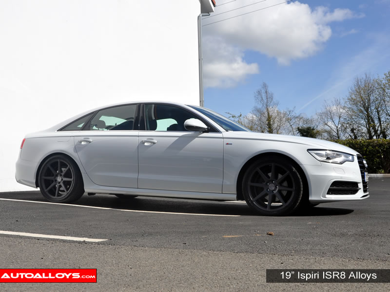 Audi A6 11 On (C7) 19 inch Ispiri ISR8 Gunmetal Alloy Wheels