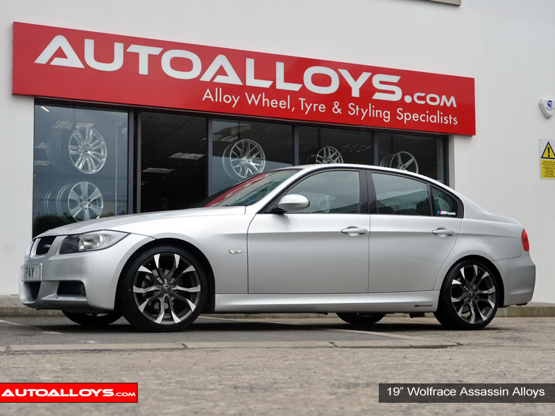 BMW 3 Series 05 - 12 (E90) 19 inch Wolfrace Assassin BPF Alloy Wheels
