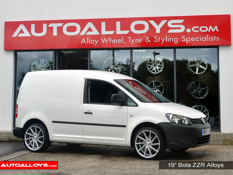Volkswagen Caddy 04 -15 (MK3) 19 inch Bola ZZR SMF Alloy Wheels