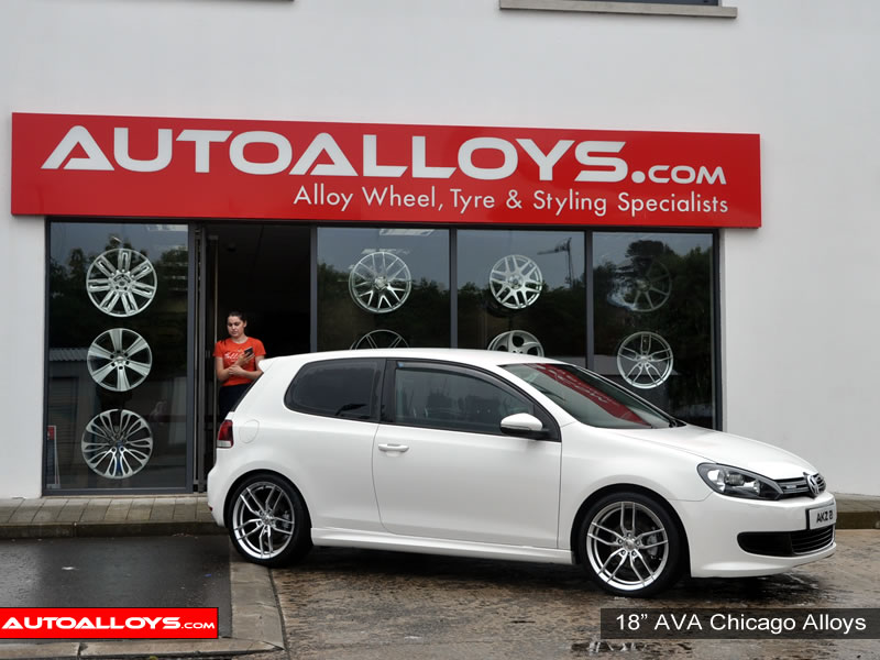 Volkswagen Golf 08 - 13 (MK6) 18 inch AVA Chicago Alloy Wheels