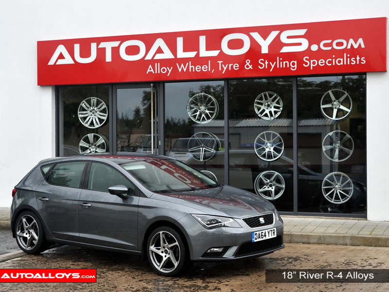 Seat Leon 13 On (5F) 18 inch River R-4 Alloy Wheels