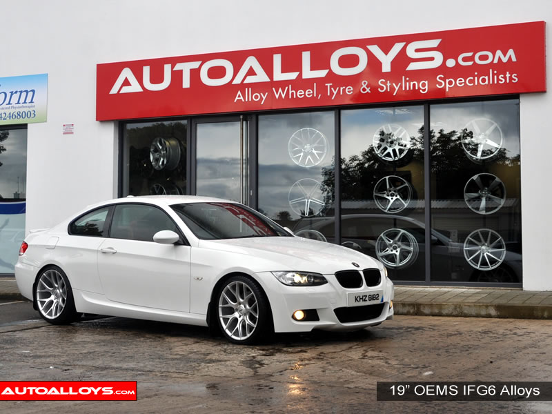 BMW 3 Series 06 On (E92) 19 inch OEMS IFG6 SMF Alloy Wheels