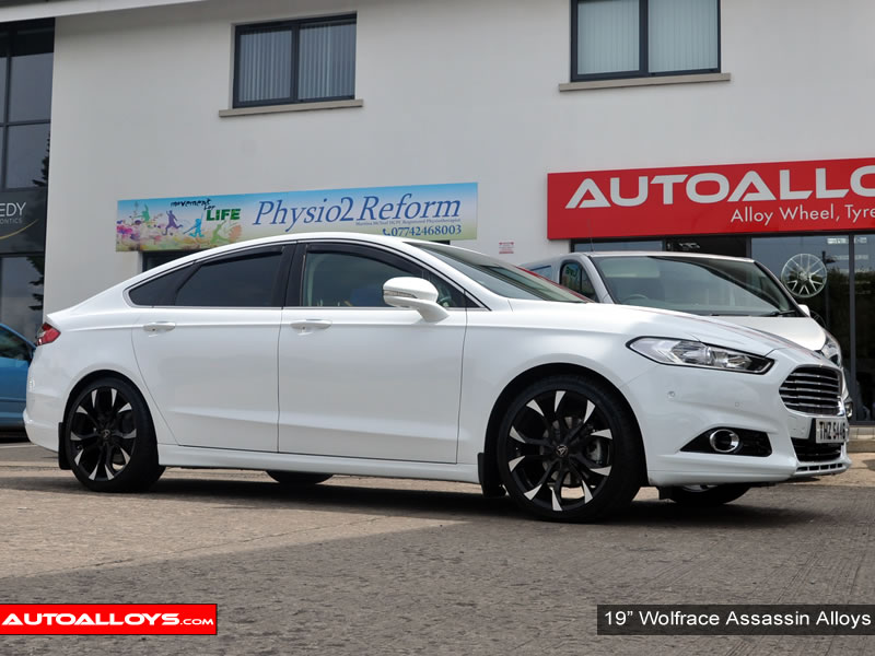 Ford Mondeo 14 On (MK5) 19 inch Wolfrace Assassin BPF Alloy Wheels