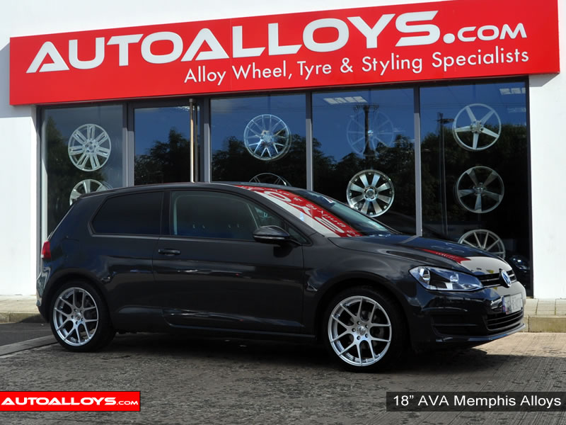 Volkswagen Golf 13 On (MK7) 18 inch AVA Memphis Alloy Wheels