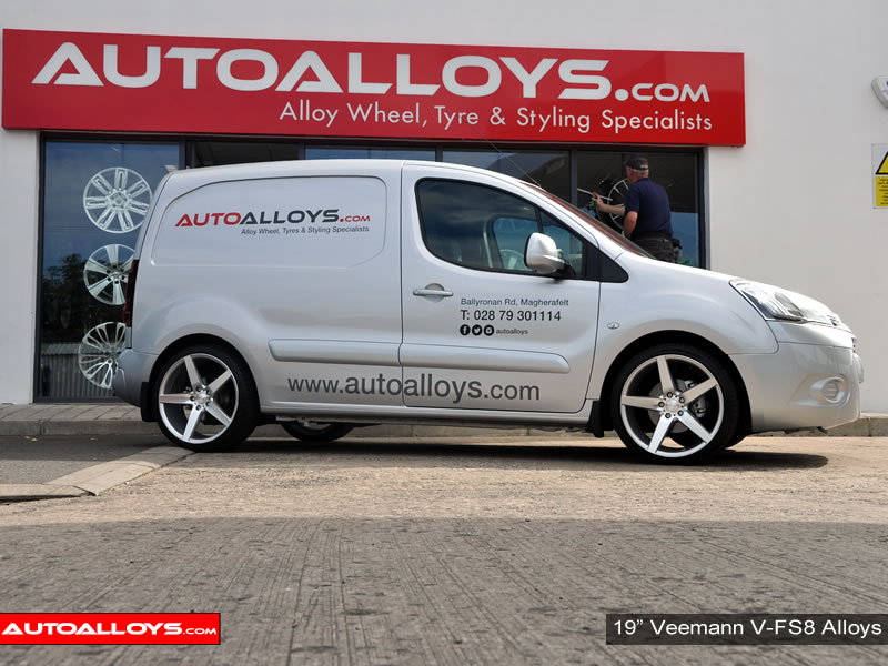 Citroen Berlingo 08 On 19 inch Veemann V-FS8 SMF Alloy Wheels