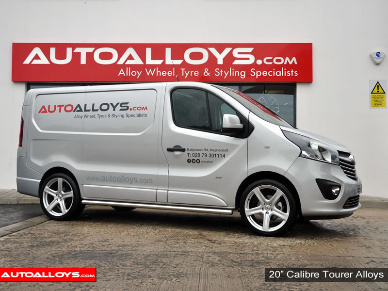 Vauxhall Vivaro 14 On 20 inch Calibre Tourer Silver Alloy Wheels