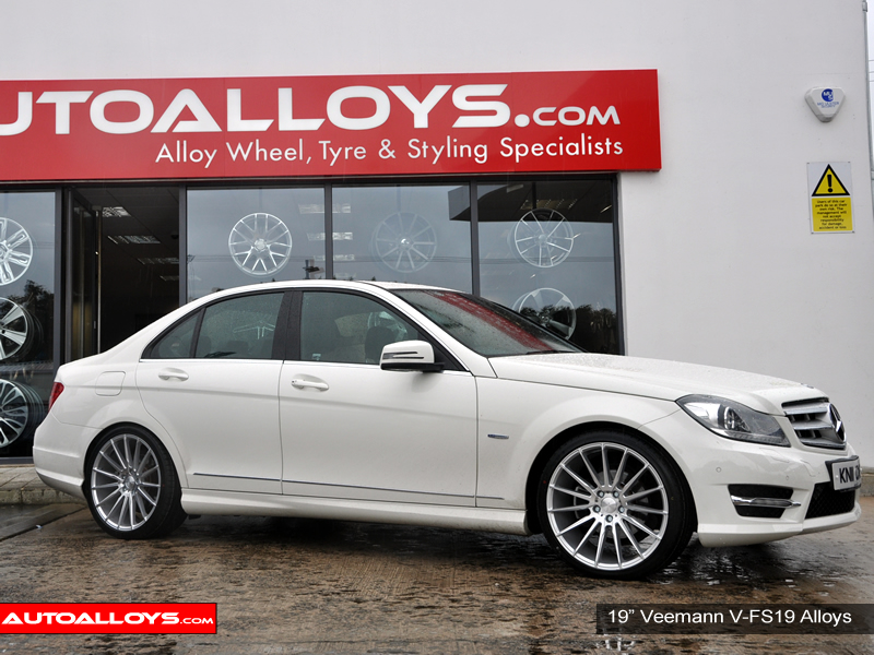Mercedes C Class 07 On (W204) 19 inch Veemann V-FS19 SMF Alloy Wheels