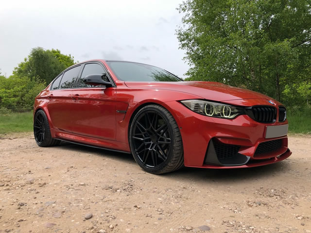 BMW M3                                                    BMW M3 AXE CF1 Alloy Wheels