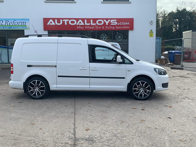 Volkswagen Caddy                                                    Volkswagen Caddy RAW San Diego Alloy Wheels