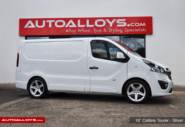 Vauxhall Vivario 14 On 18 inch Calibre Tourer Style Silver