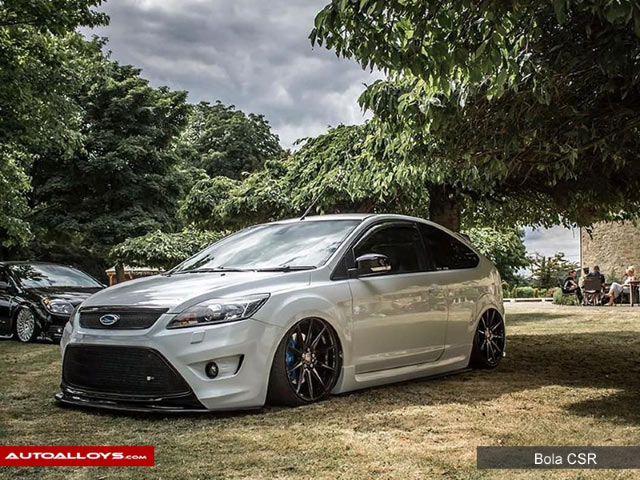 Ford Focus 2011 On (MK3)  Ford Focus with 19 inch Bola CSR Gloss Gun Metal