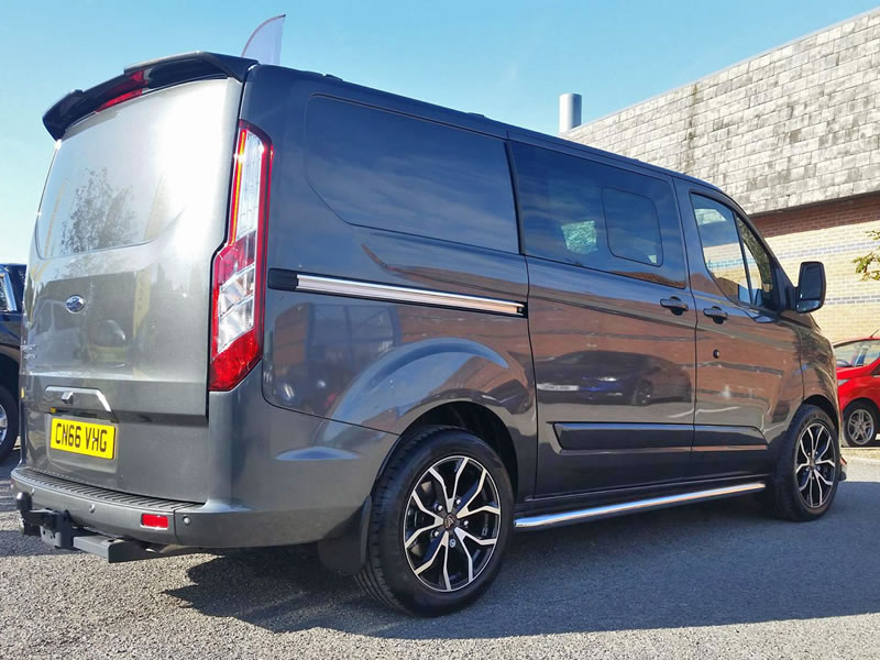 Ford Transit                                                    Wolfrace Assassin Ford Transit