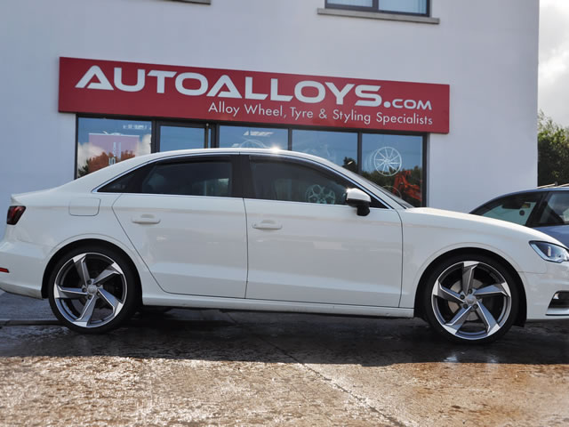 Audi A3                                                    Audi A3 RAW A9 Concept Alloy Wheels