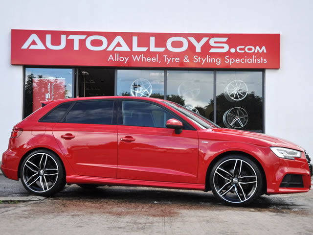 Audi A3                                                    Audi A3 RAW RS6C Alloy Wheels