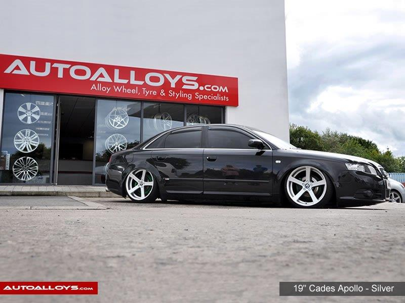 Audi A4                                                    19 inch Cades Apollo - Silver Alloy Wheels
