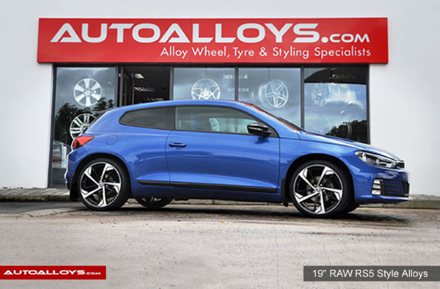 Volkswagen Scirocco                                                    19 inch Raw RS5 Style Alloy Wheels