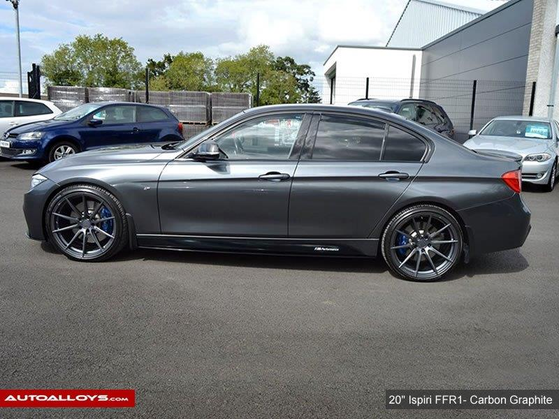 BMW 3 Series                                                    20 inch Ispiri FFR1 Carbon Graphite