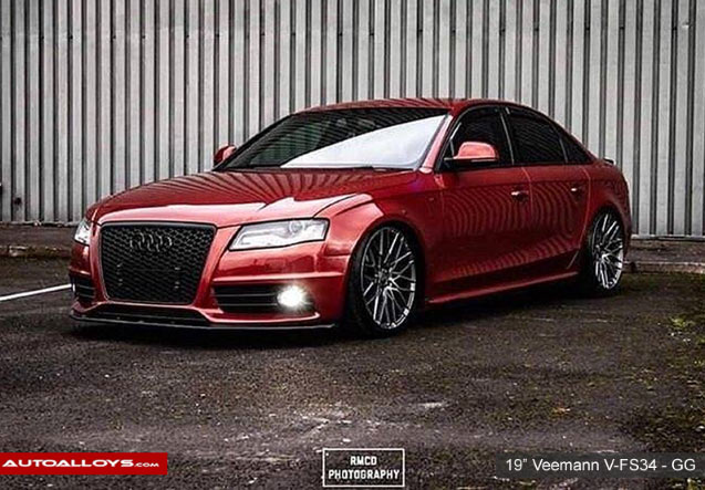 Audi A4 12 On (MK3) (8V) Veemann V-FS34 - Gloss Graphite